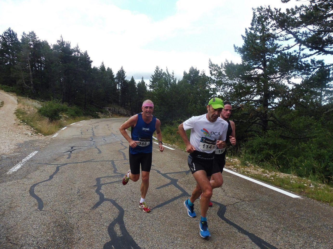 Le Semi-Marathon du Ventoux 2019, tronqué...