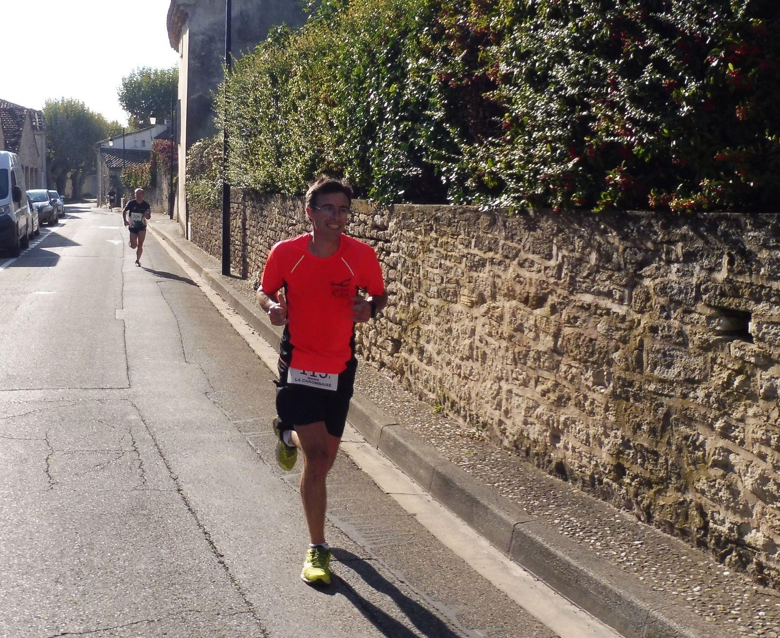 Elodie Senter, première féminine du 11 km.