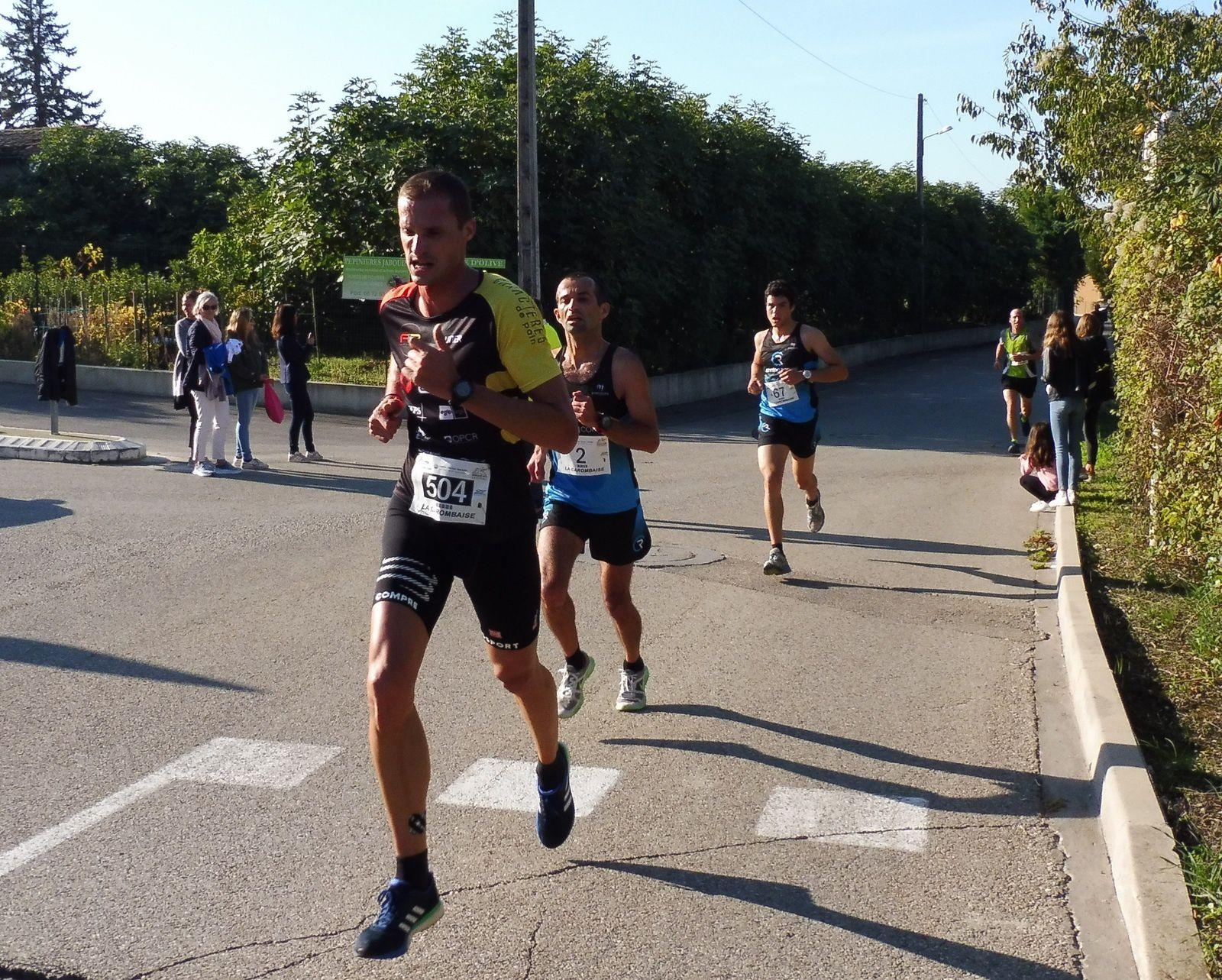 Julien Privat, deuxième du 5 km.