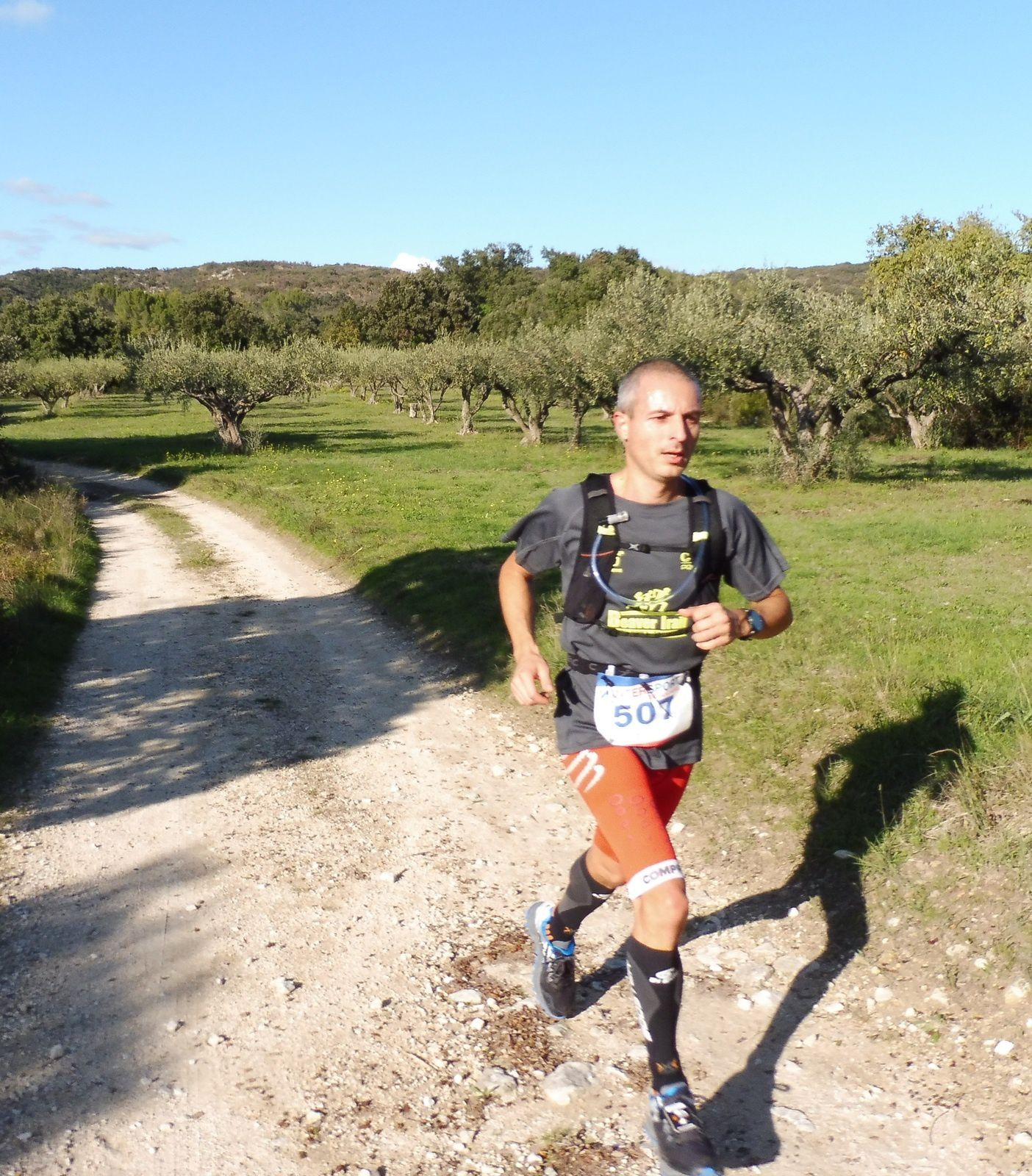 Anthony Bernard (Team Trail Spirit), 2ème du 20 km.