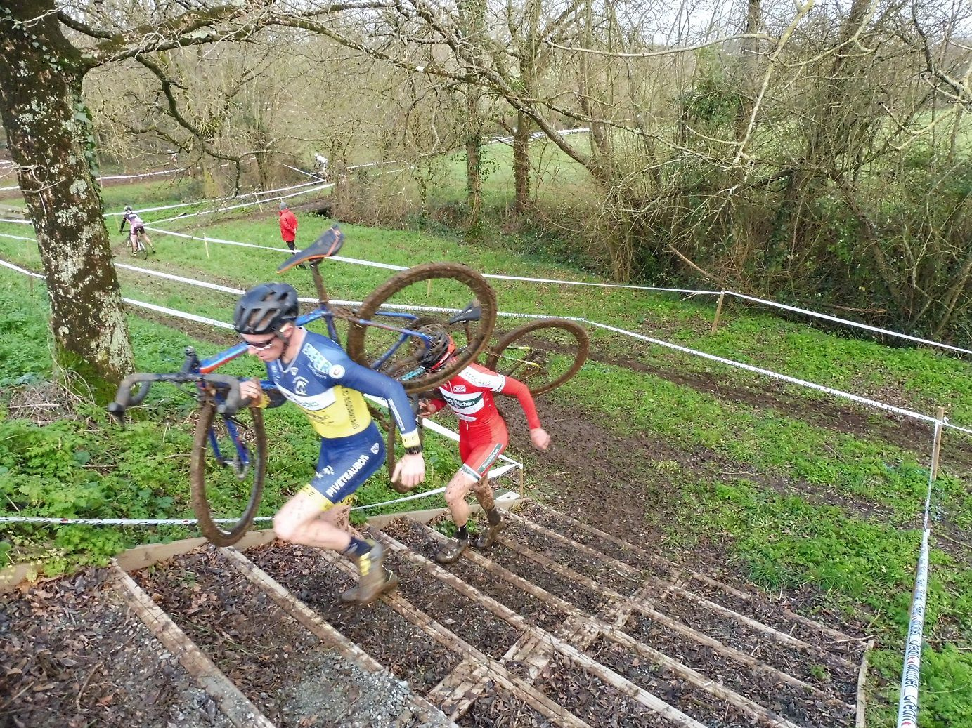 Cyclo-cross de Saint Prouant (85) 2019.