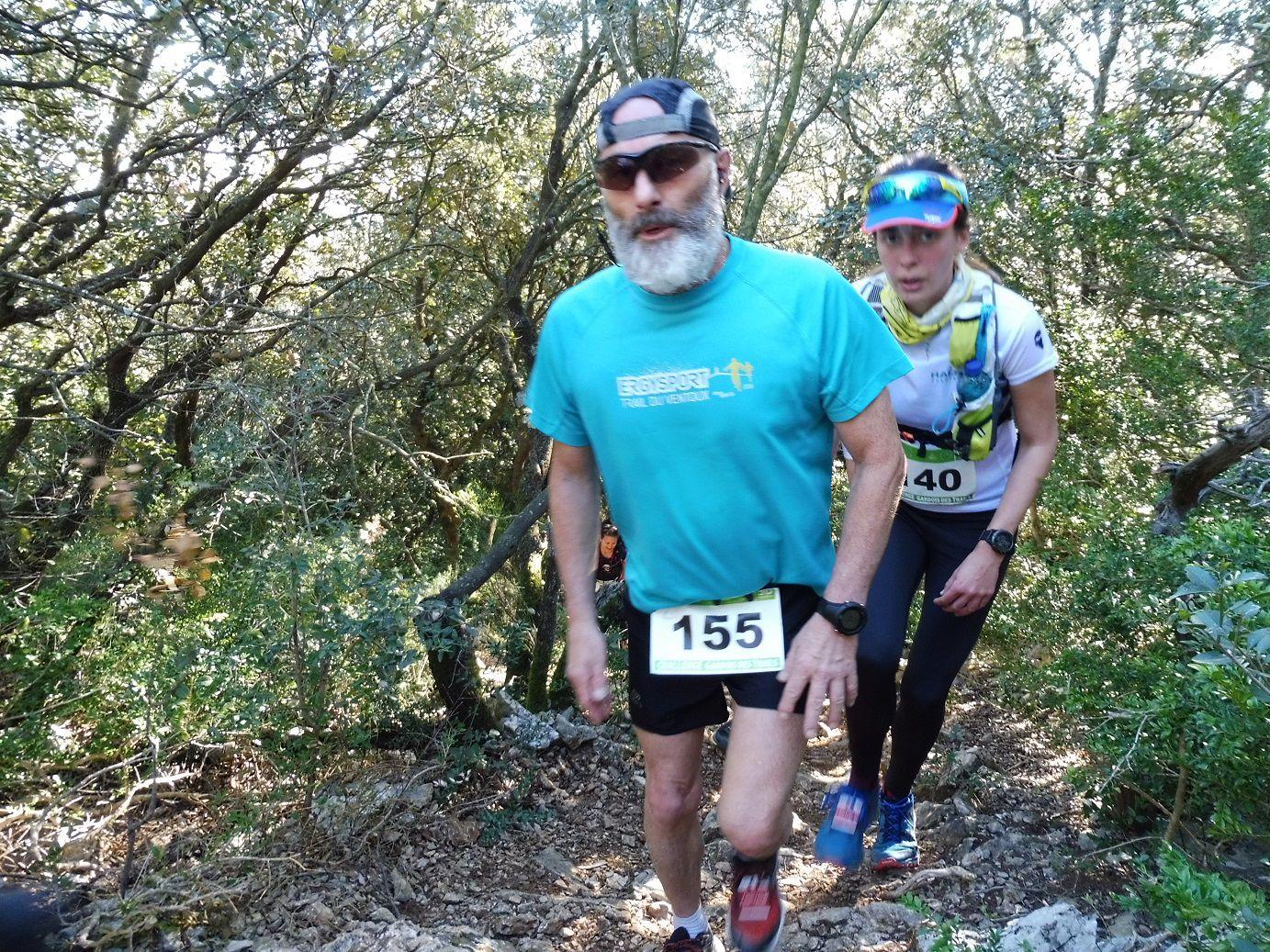 L'Eynavay'trail 2020 à Rochefort du Gard (30).