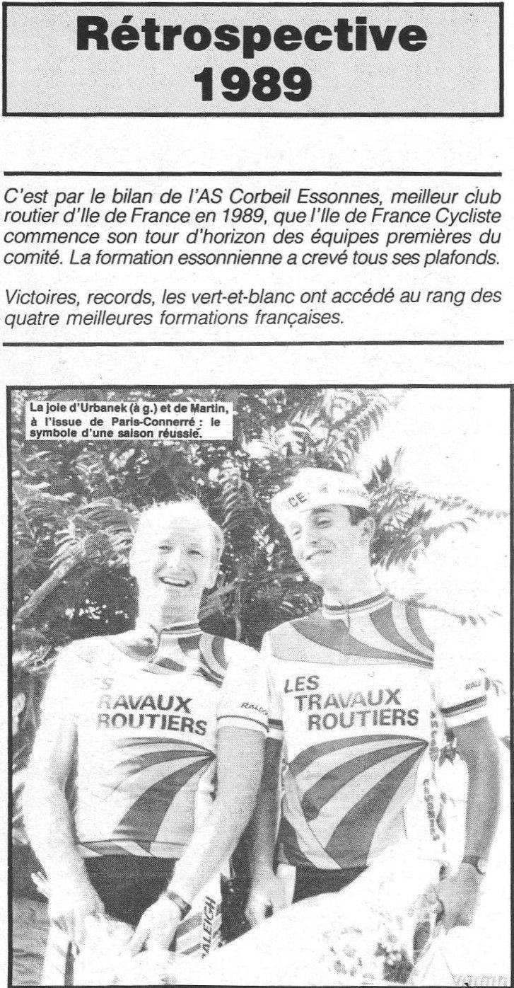 Cycliste vendéen des années 1980.