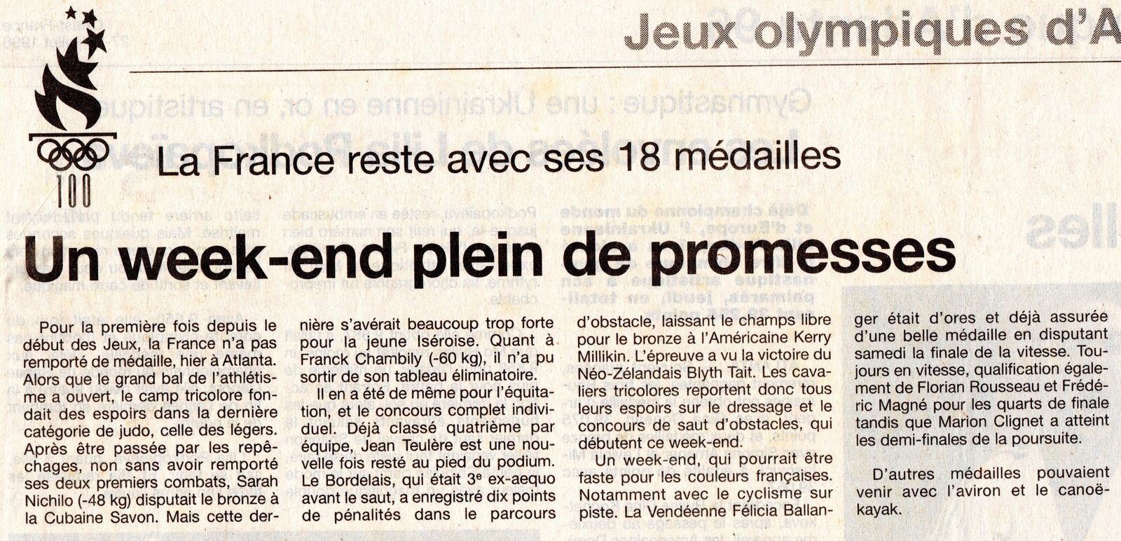 Ouest-France 1996.