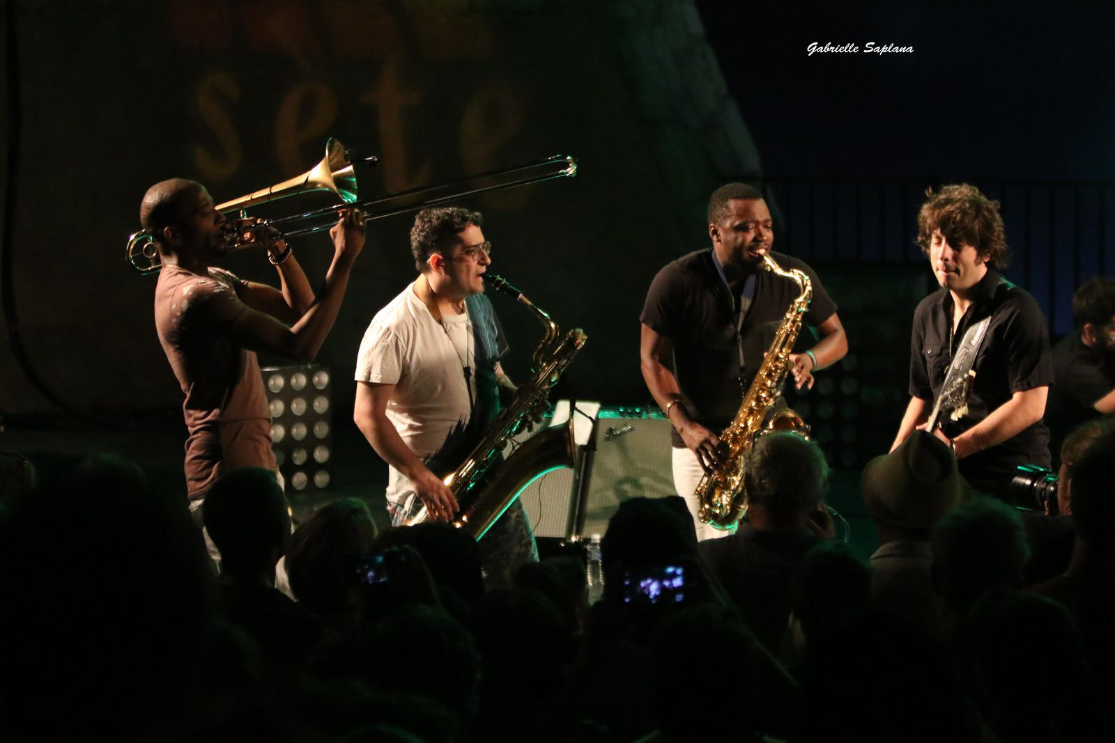 Festival Jazz a Sète, 2017 Robert Glasper, Trombone Shorty, Hot8brassband