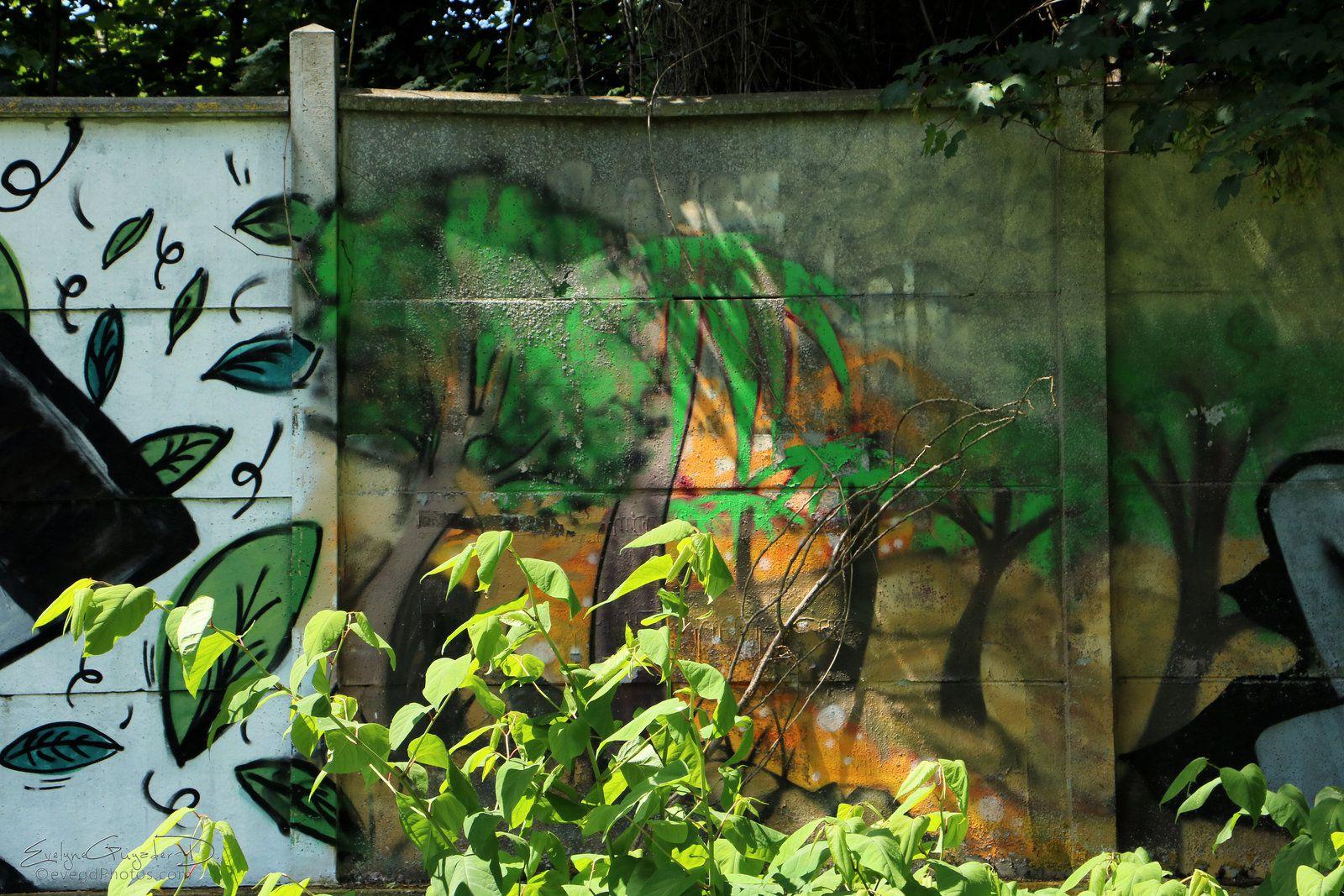 Peinture, Nature et Verdure..