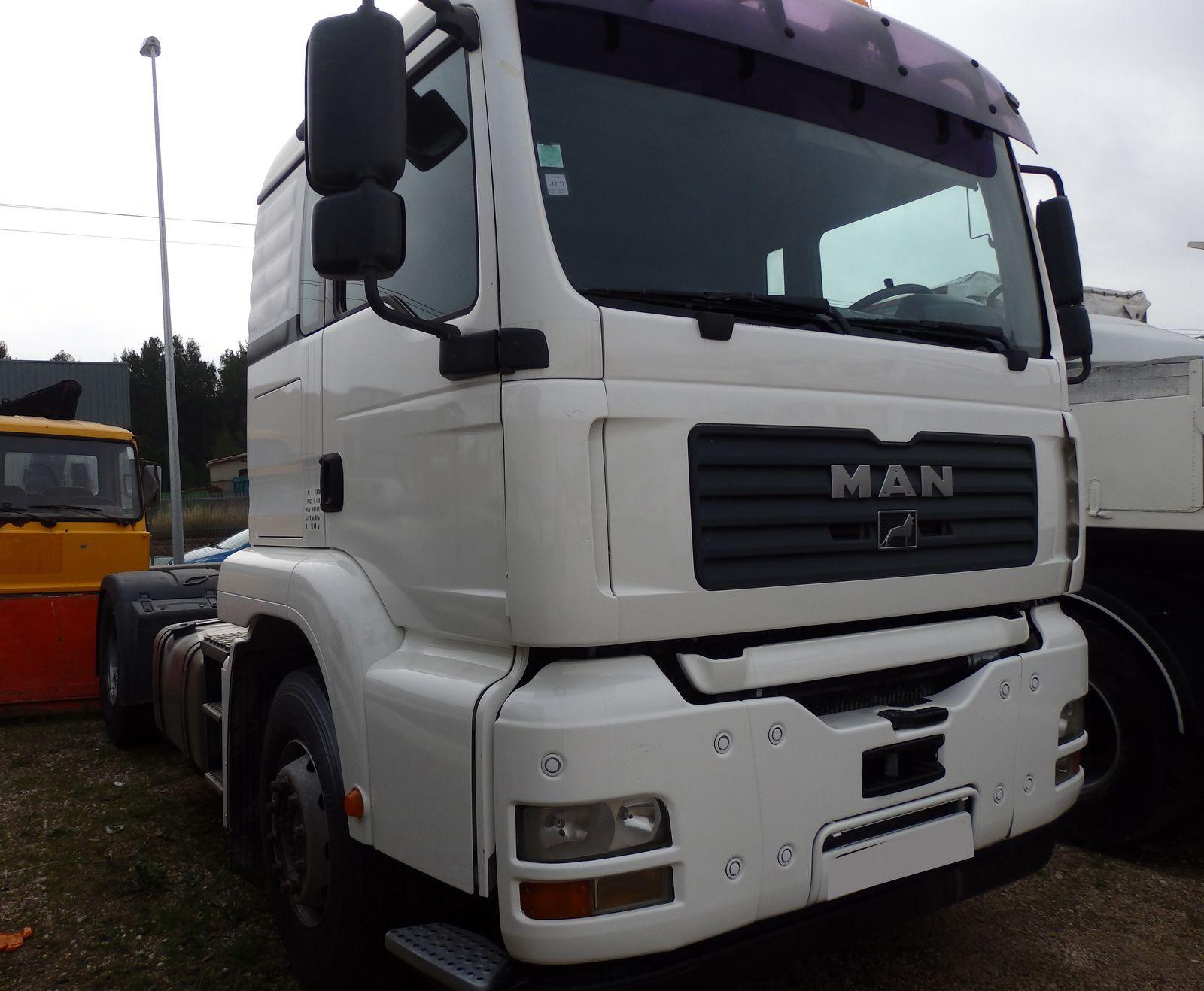 Camion Tracteur Routier MAN TGA 430 Tel: 0608066192 TRANSCOMM13 Pierre BASSAT