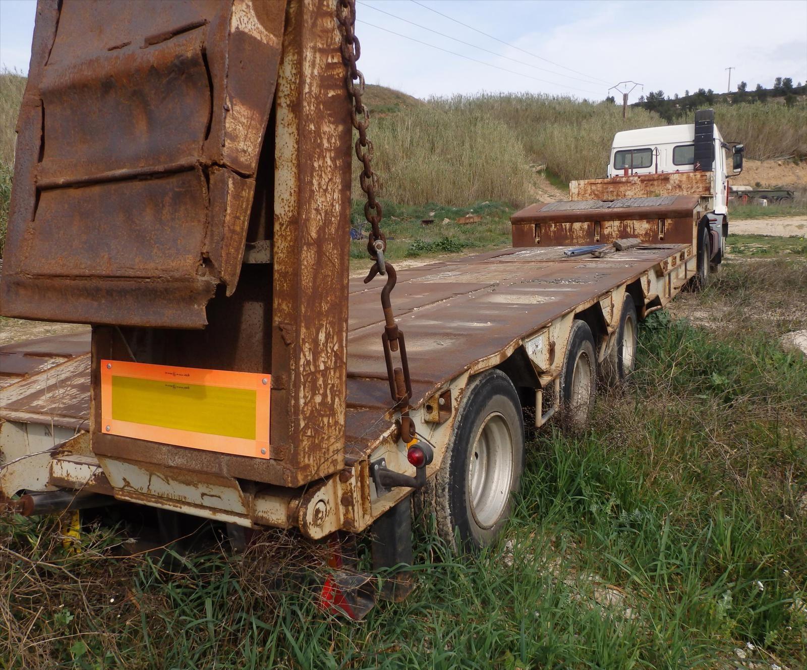 Tracteur Routier Renault G340 EXPORT Porte char KAISER 0608066192 TransComm13 Pierre BASSAT