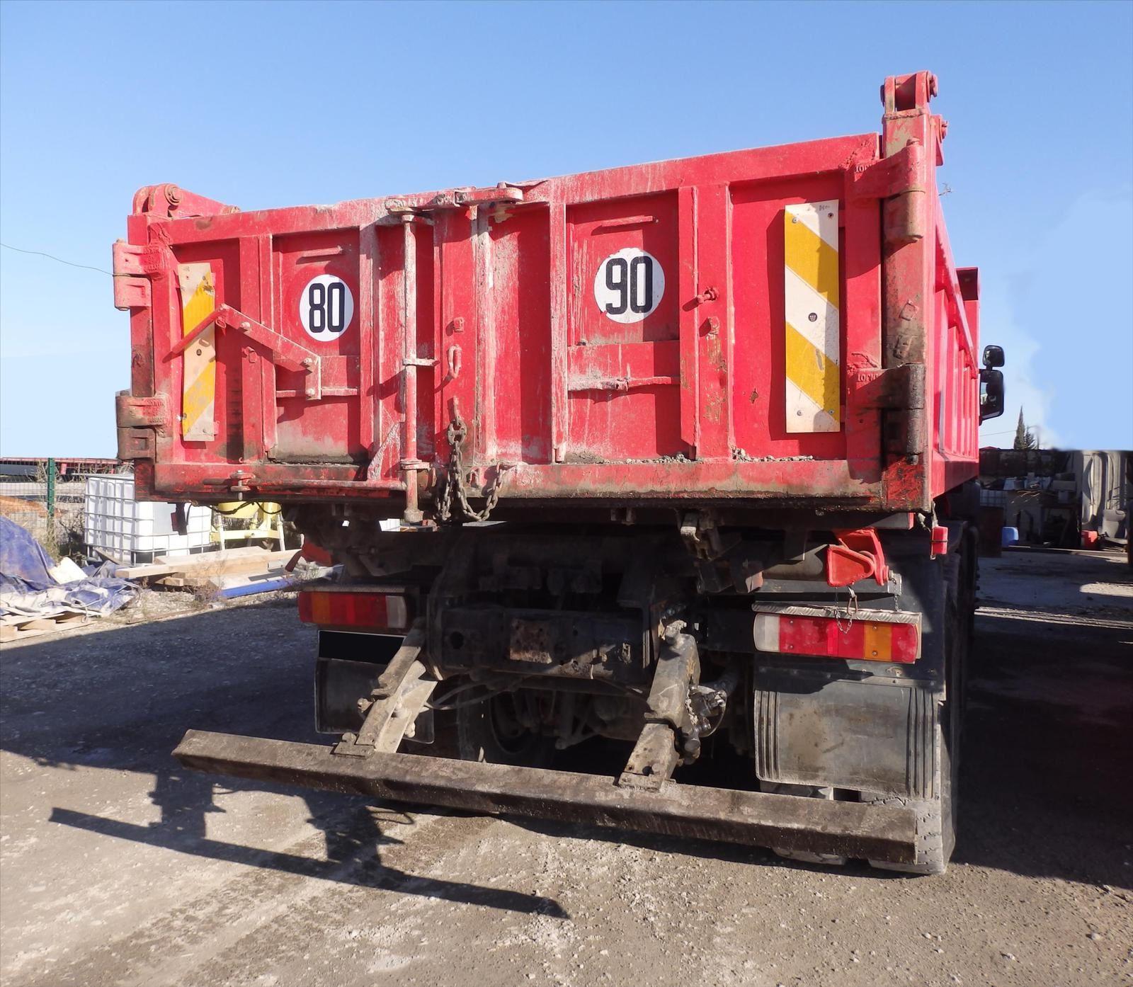 Camion Scania 114C 6x4 BiBenne 0608066192 Pierre BASSAT TRANSCOMM13