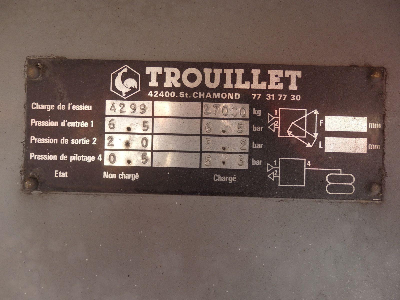 Semi Remorque SREM FRIGO 0608066192 TRANS.COMM.13 Pierre BASSAT