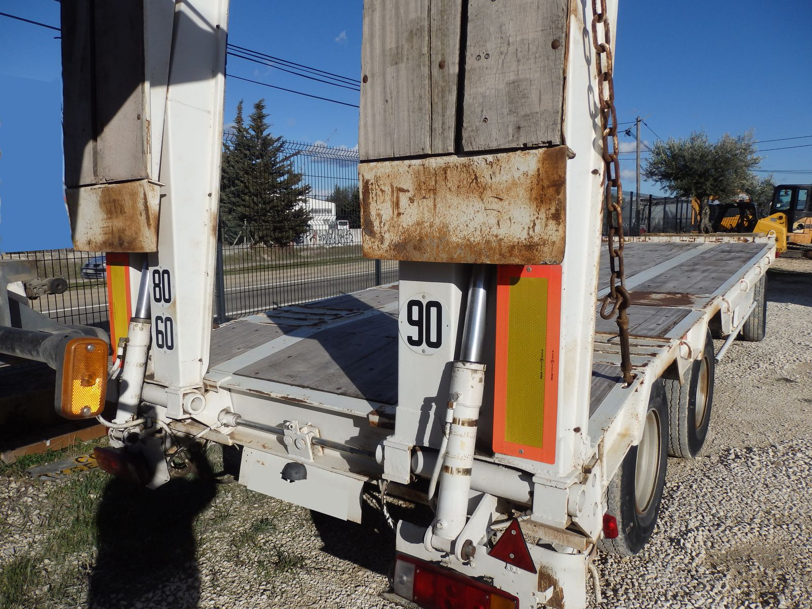 Remorque Porte Engin ACTM Tel: 0608066192 TRANSCOMM13 Pierre BASSAT