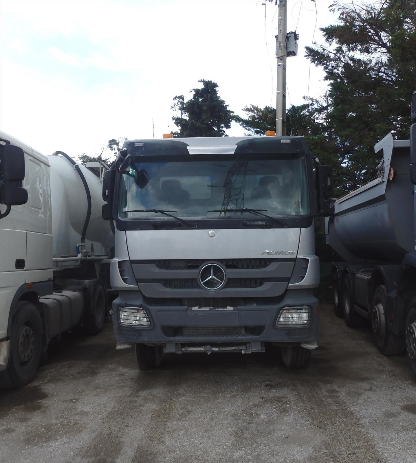 Camion MERCEDES ACTROS 32-41 8x4 Pierre BASSAT Tel: 0608066192 TRANSCOMM13