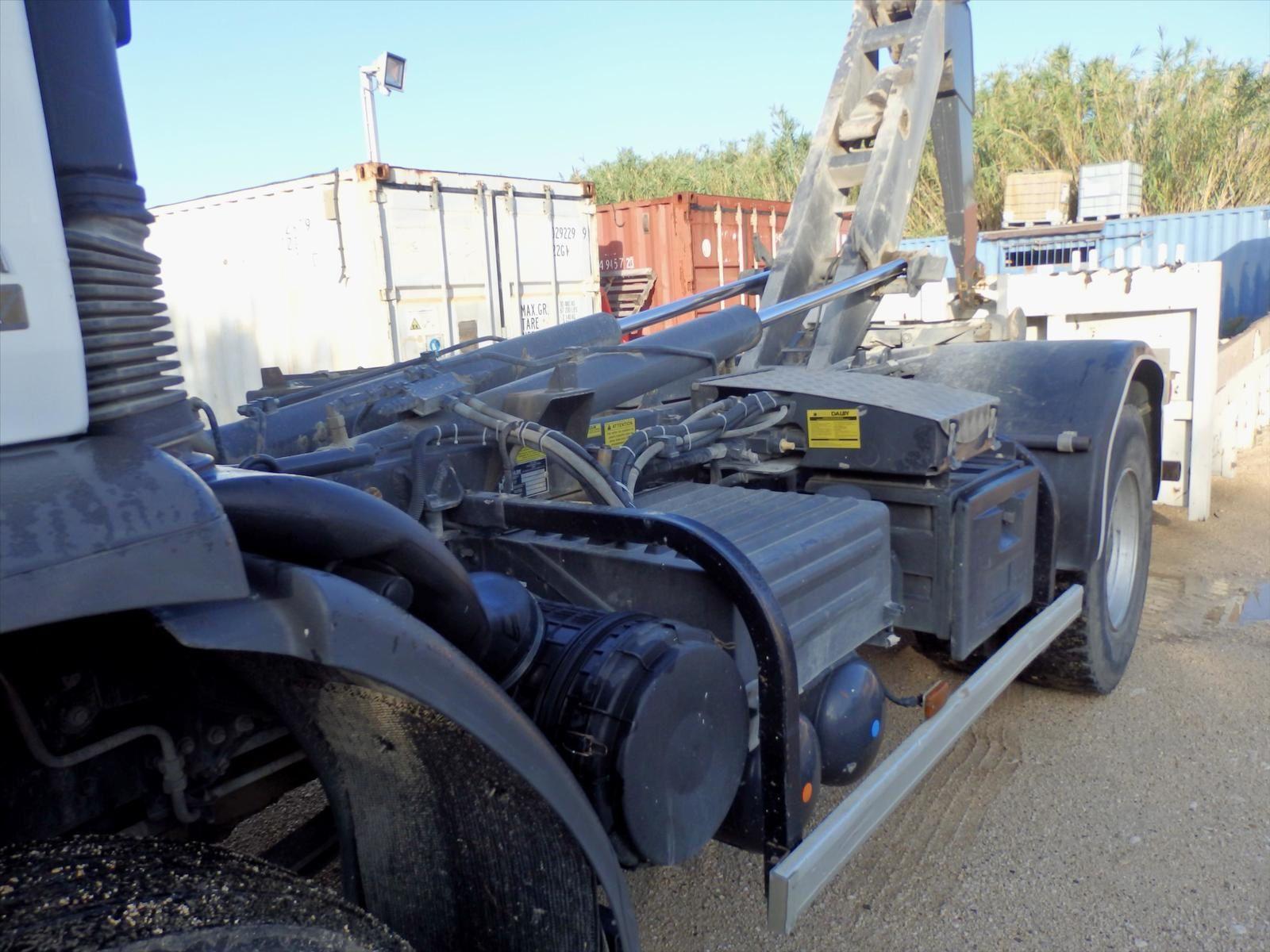 Camion Renault Ampliroll Lander Tel: 0608066192 M. Pierre BASSAT TRANSCOMM13
