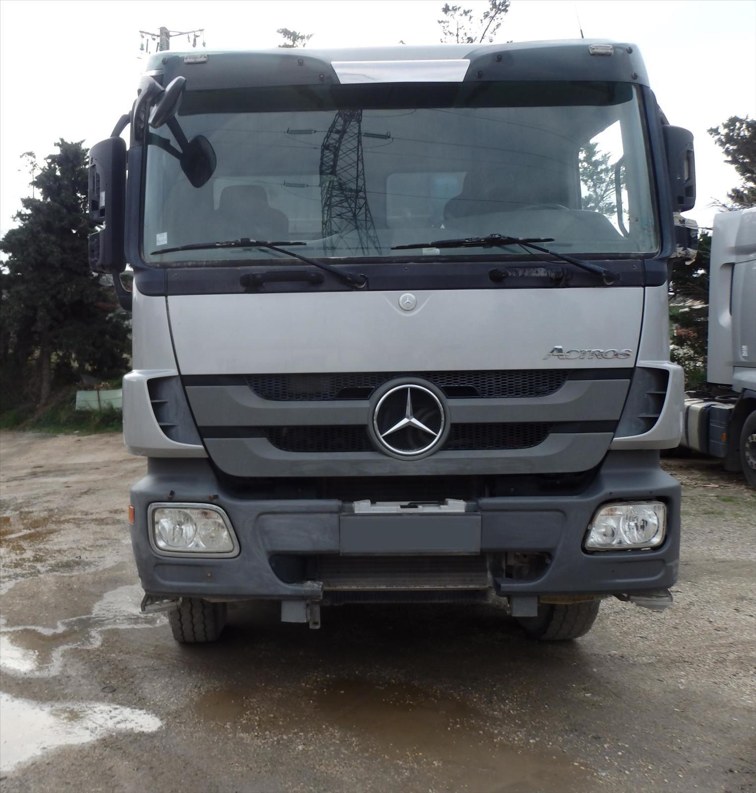 Camion Mercedes Actros 3241 8x4, BenneTel: 0608066192 Pierre BASSAT TRANSCOMM13