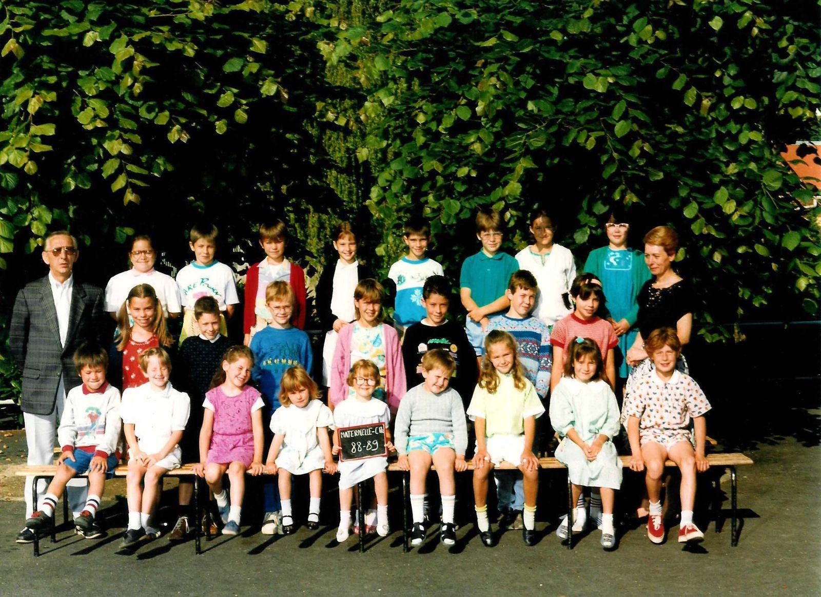 Année scolaire 1988-1989