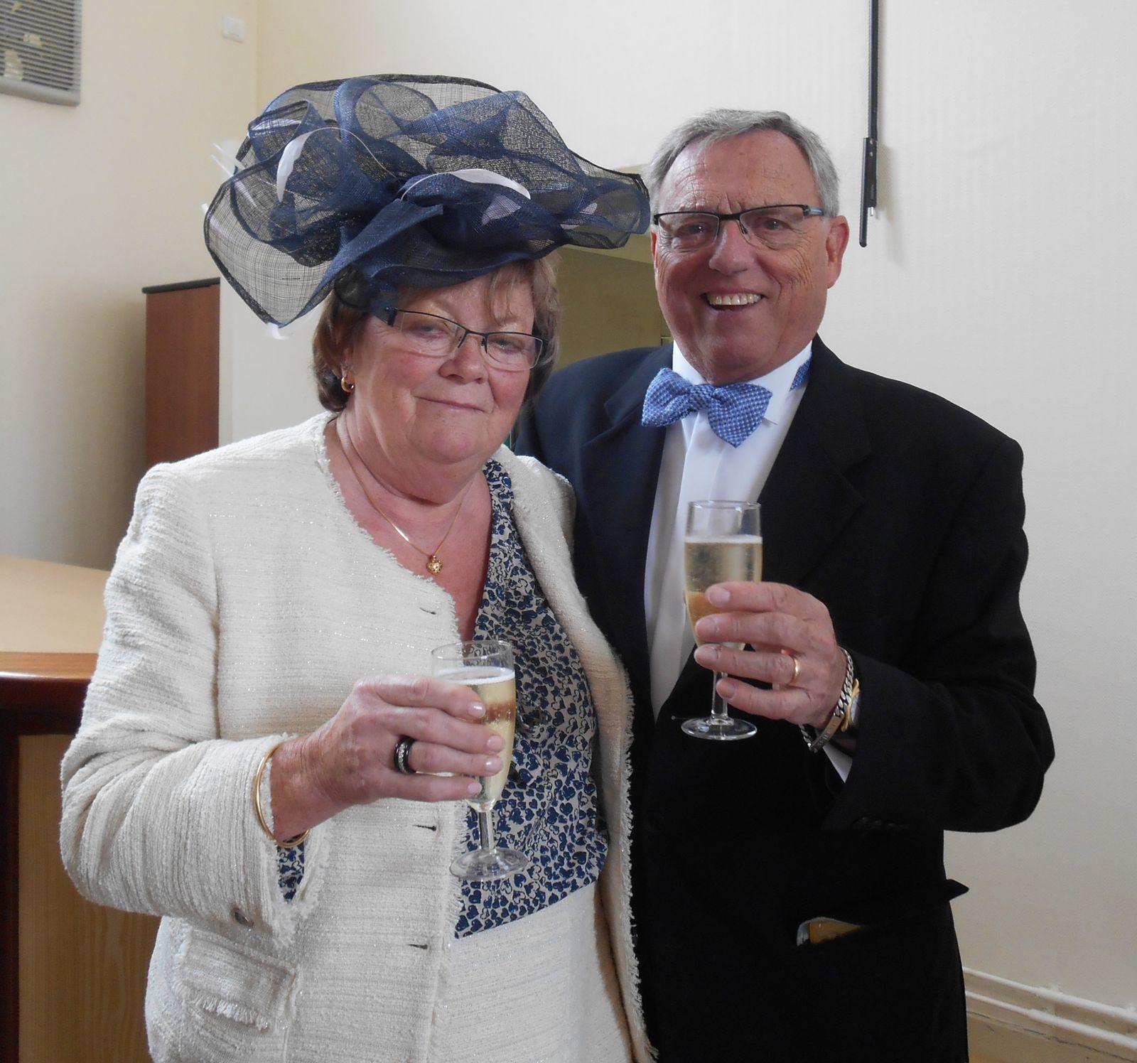 Félicitations à Nicole et Jean-Marie