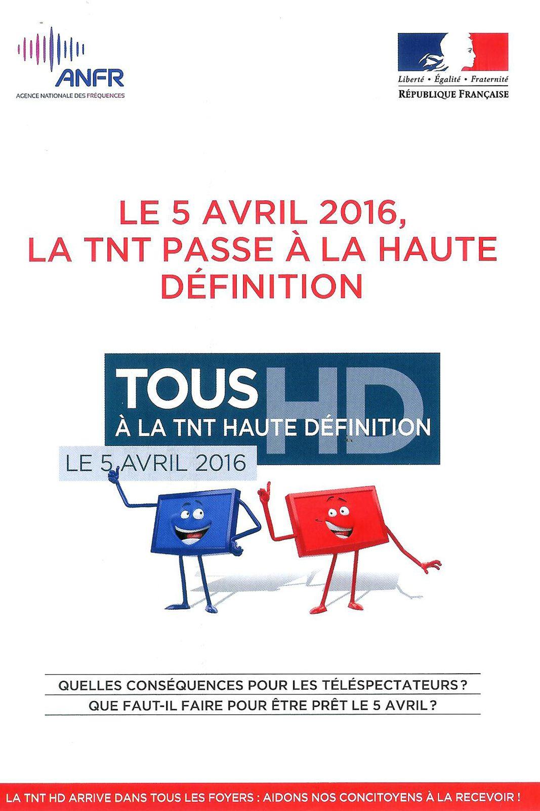 Bientôt la TNT HD à Remaucourt !