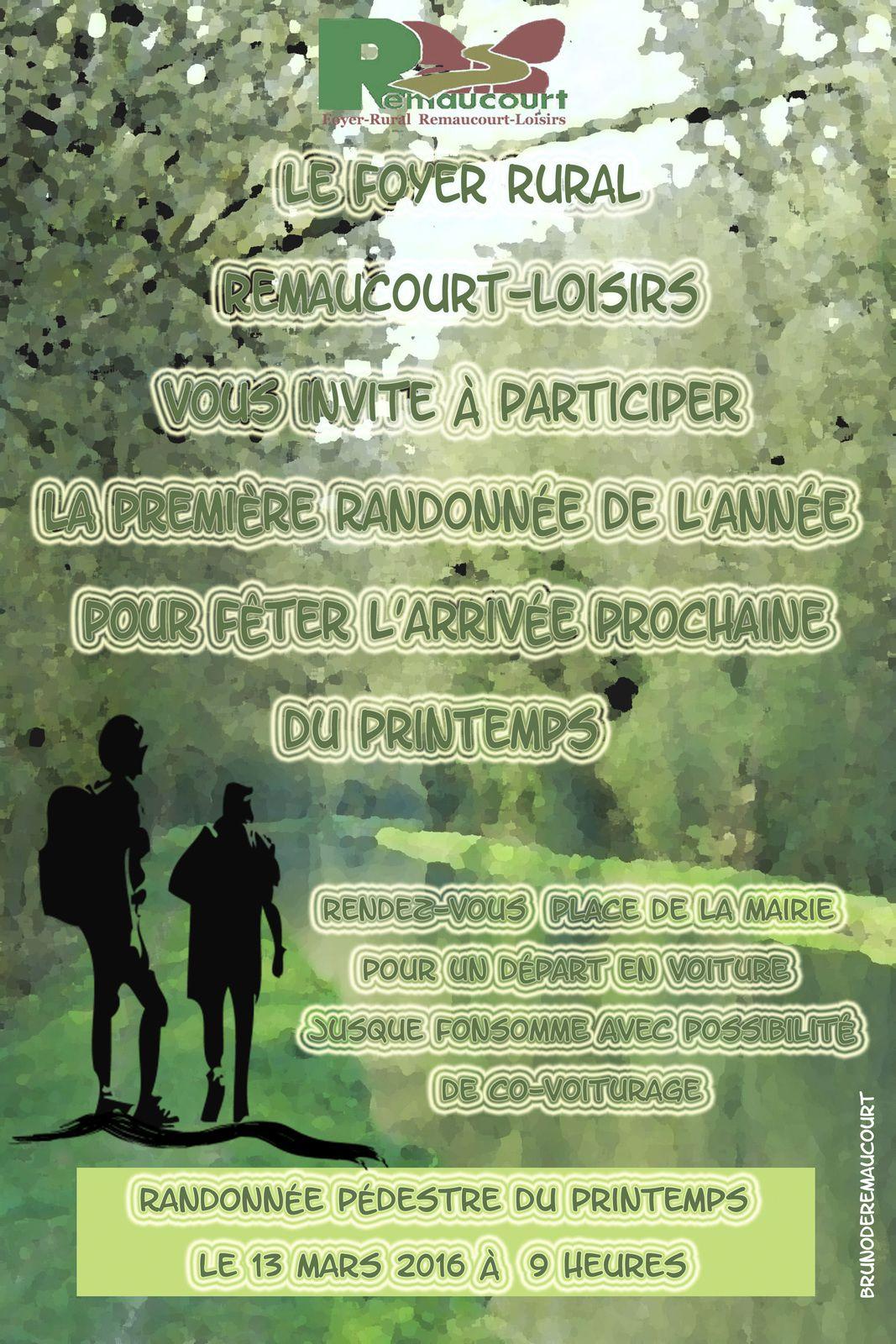 Affiche: la rigole du Noirieu à Remaucourt.