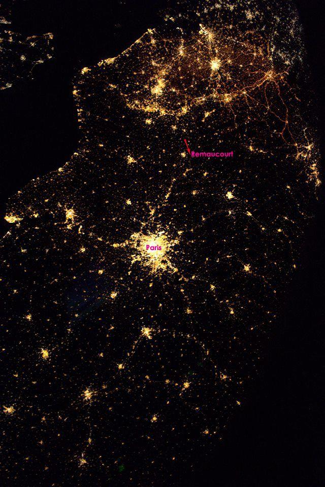 Photo Thomas Pesquet depuis l'ISS le 8 décembre dernier.