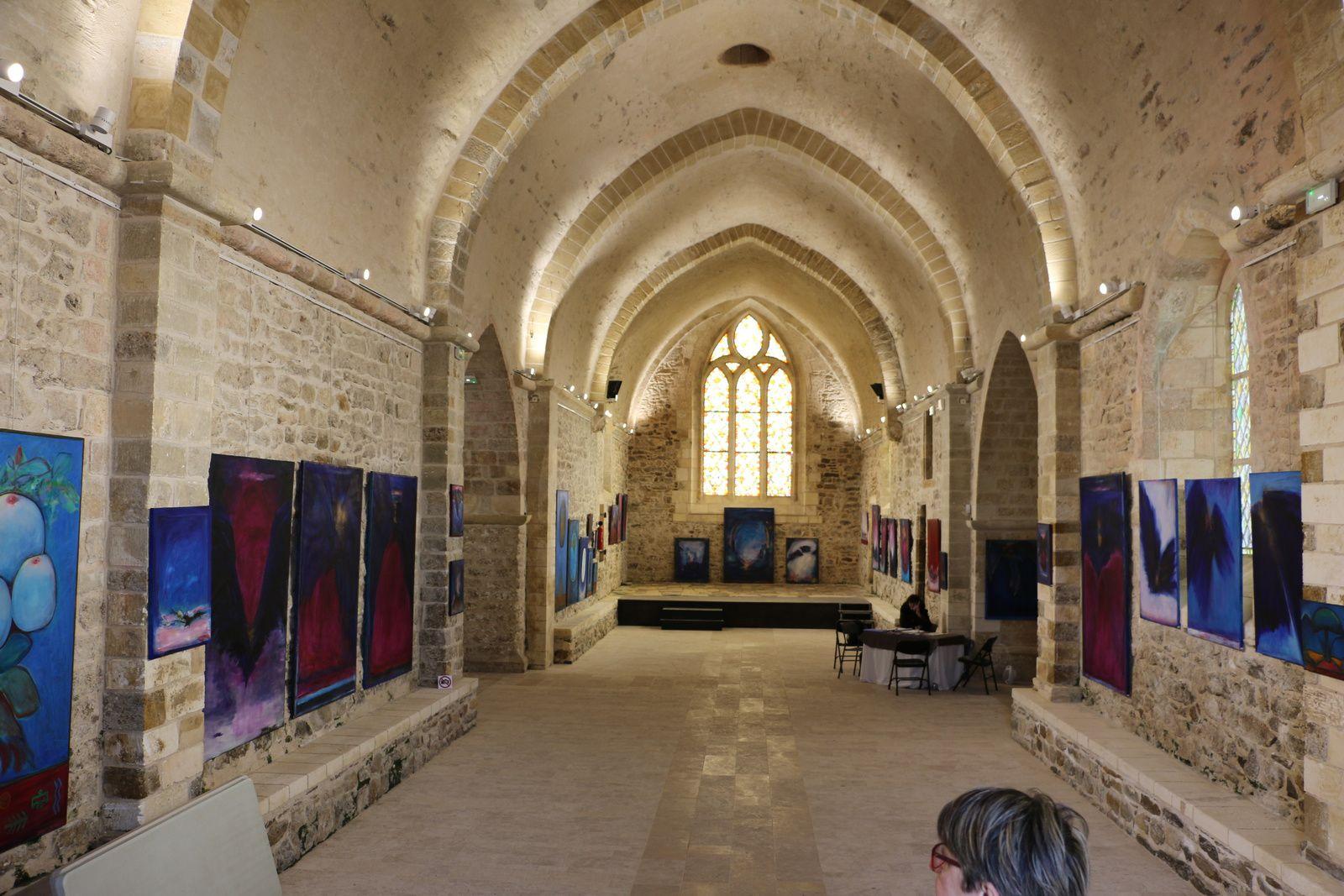 L'architecture des lieux aurait mérité plusieurs photos, mais interdites pendant l'expo ! dommage.