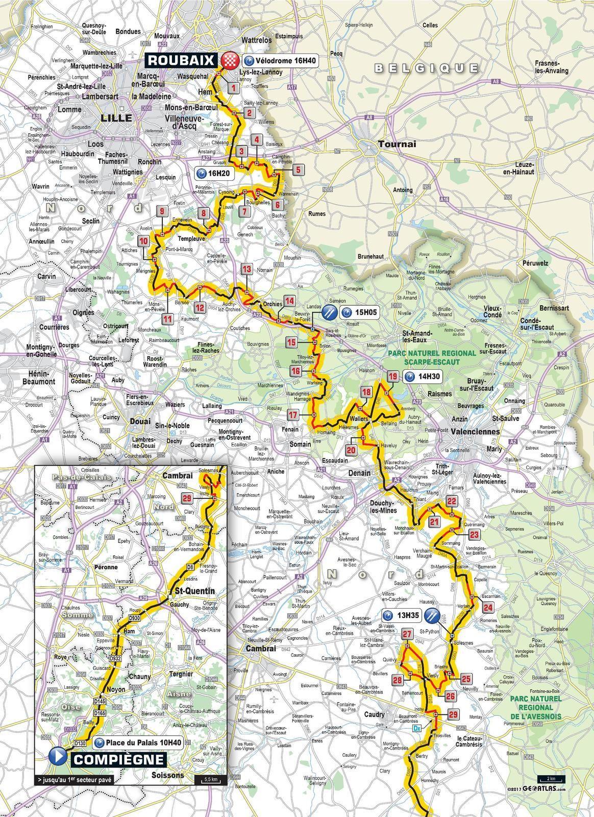 Paris-Roubaix 2017, bientôt à notre porte !