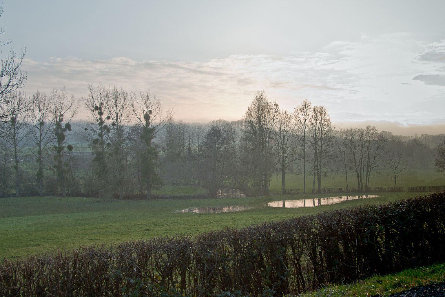 Paysages de Thiérache.