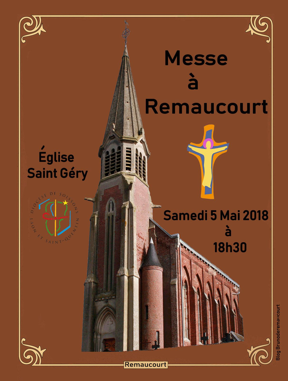 Messe à Remaucourt.