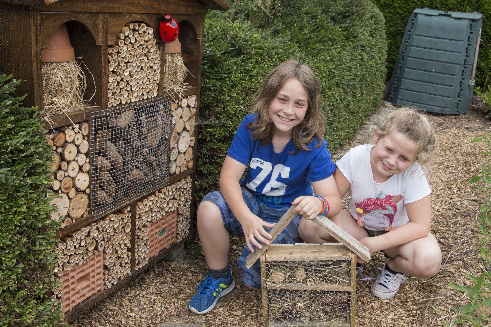 Bravo pour la réalisation, Thomas et Oriane installeront bientôt leur hôtel à insectes en Vendée.