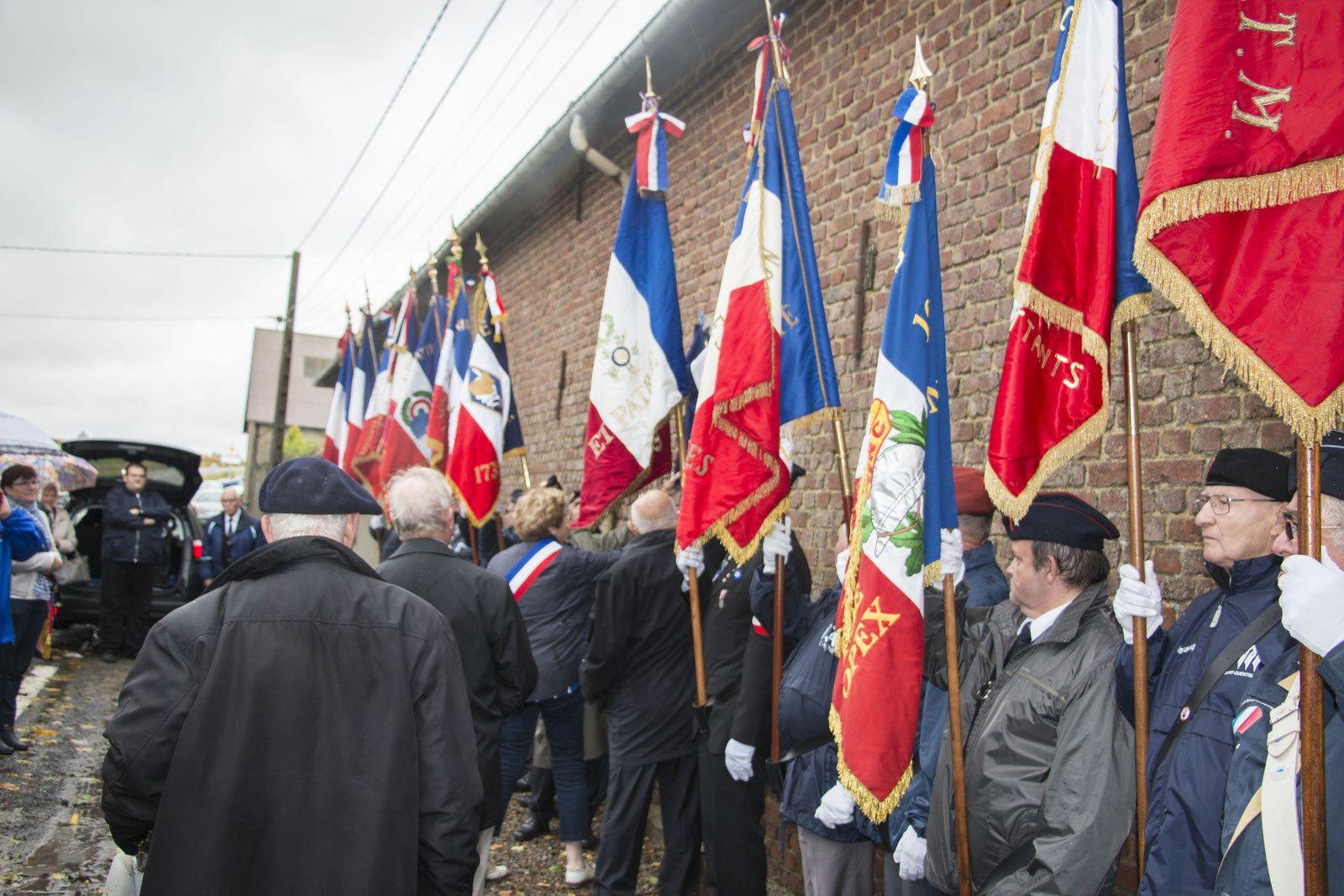 Commémoration du Centenaire de la 1ère Guerre Mondiale à Remaucourt.