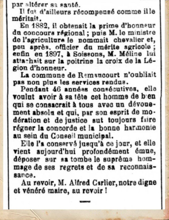 Histoire du village.