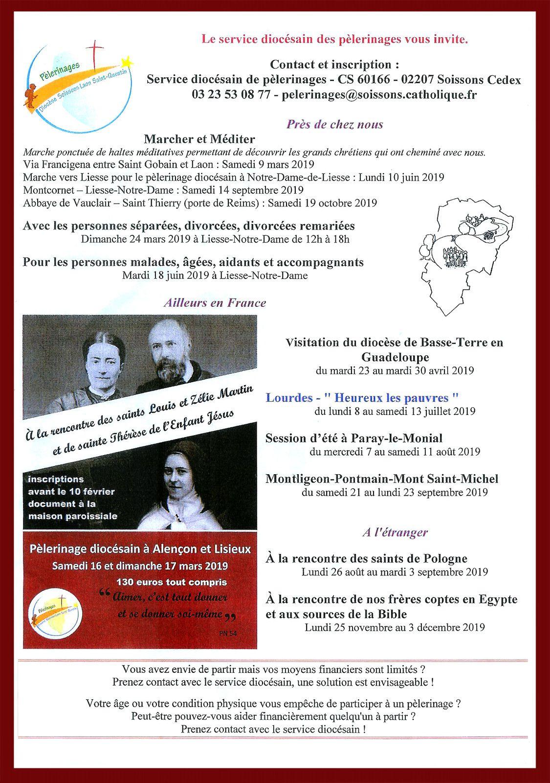 Bulletin Paroissial n° 91 Janvier, Février, Mars 2019.