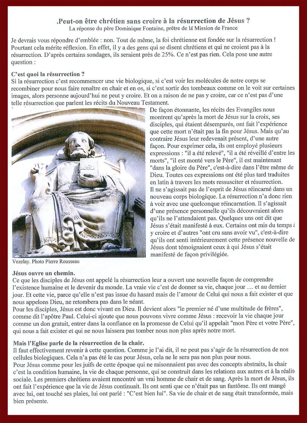 Bulletin paroissial N°92 spécial Carême 2019.