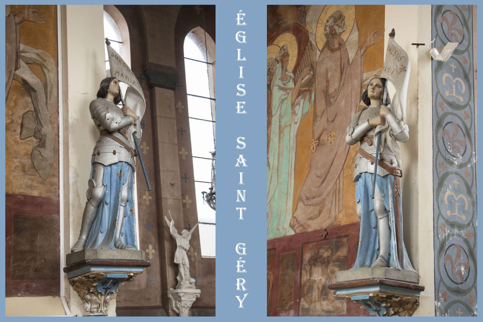La statue de Jeanne d'Arc (avril 2019)