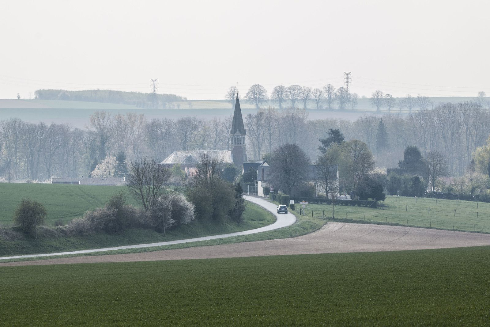 Retour en image sur le passage de la 117ème édition du Paris Roubaix.