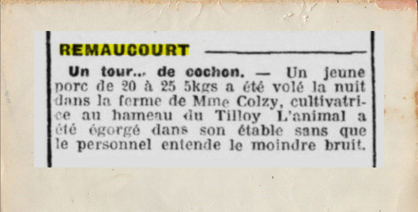 Histoire du village et de ses habitants dans la gazette de l'époque.
