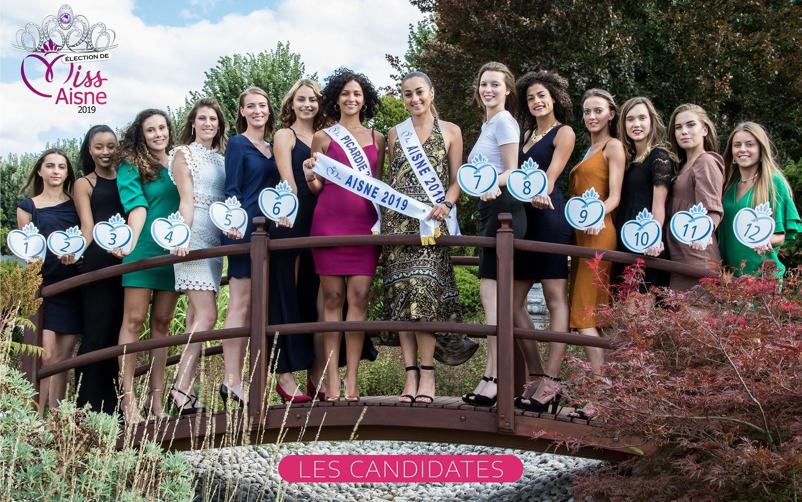 Photo comité Miss Aisne 2019.