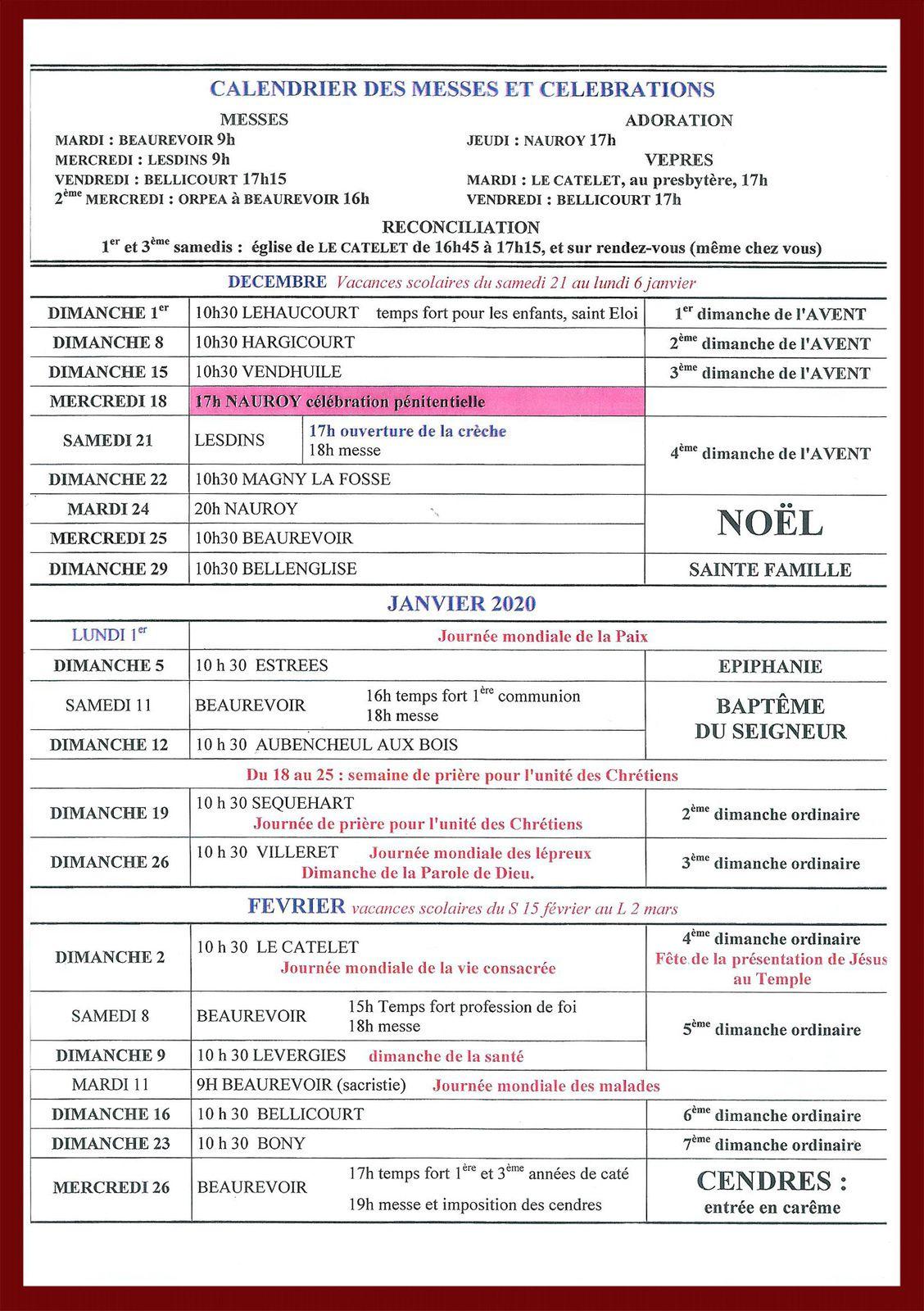 Bulletin Paroissial n° 96.