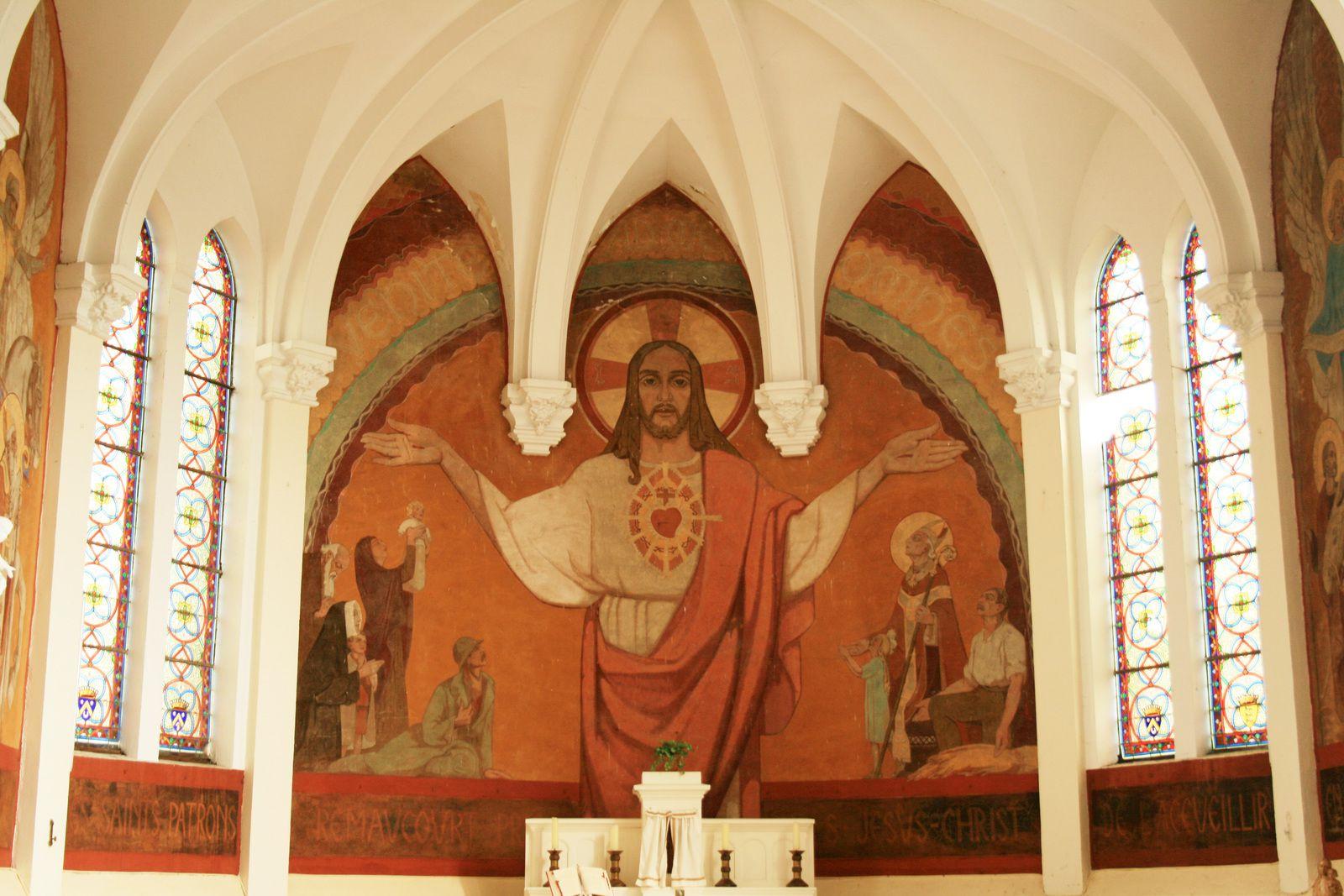 Un trésor méconnu sur les murs de notre église.