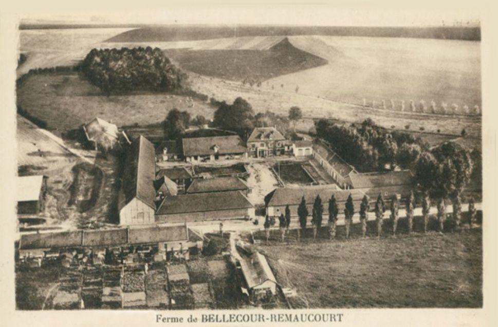 Hameau de Bellecour 1920.