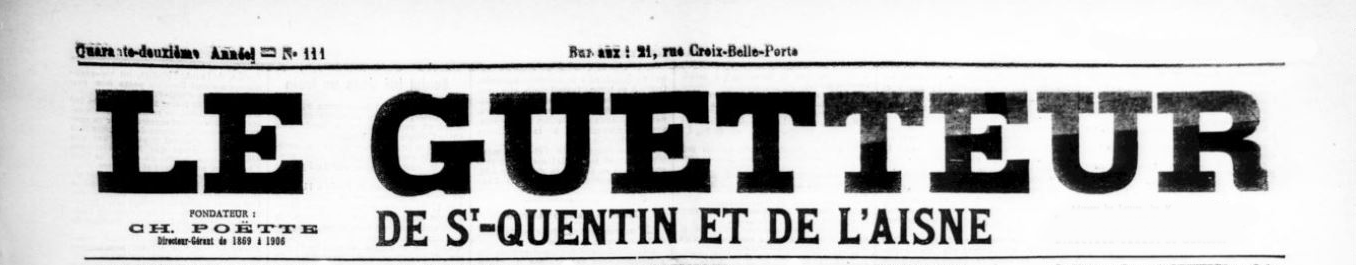 Article de presse du 13 septembre 1922