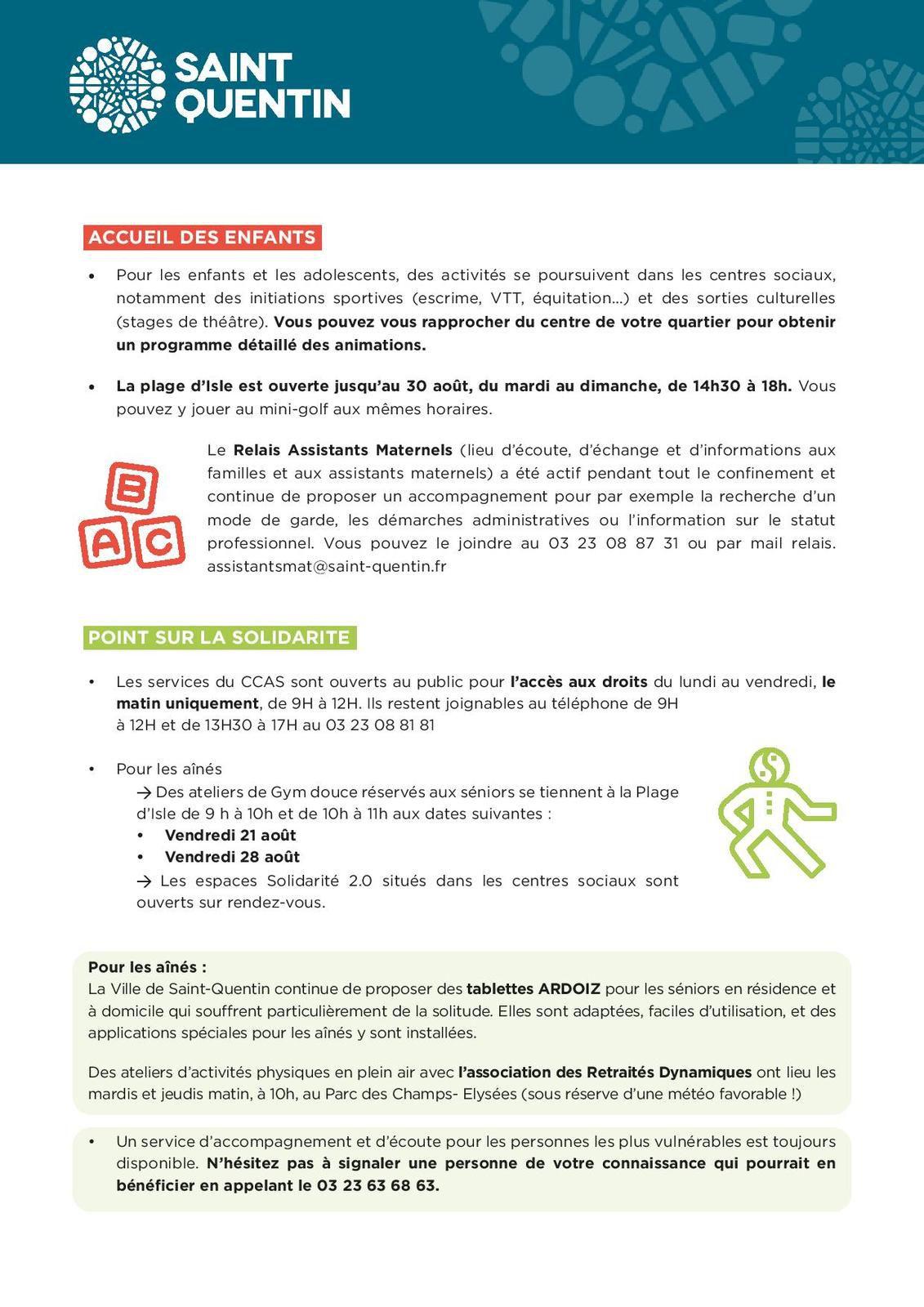 Info covid 19.