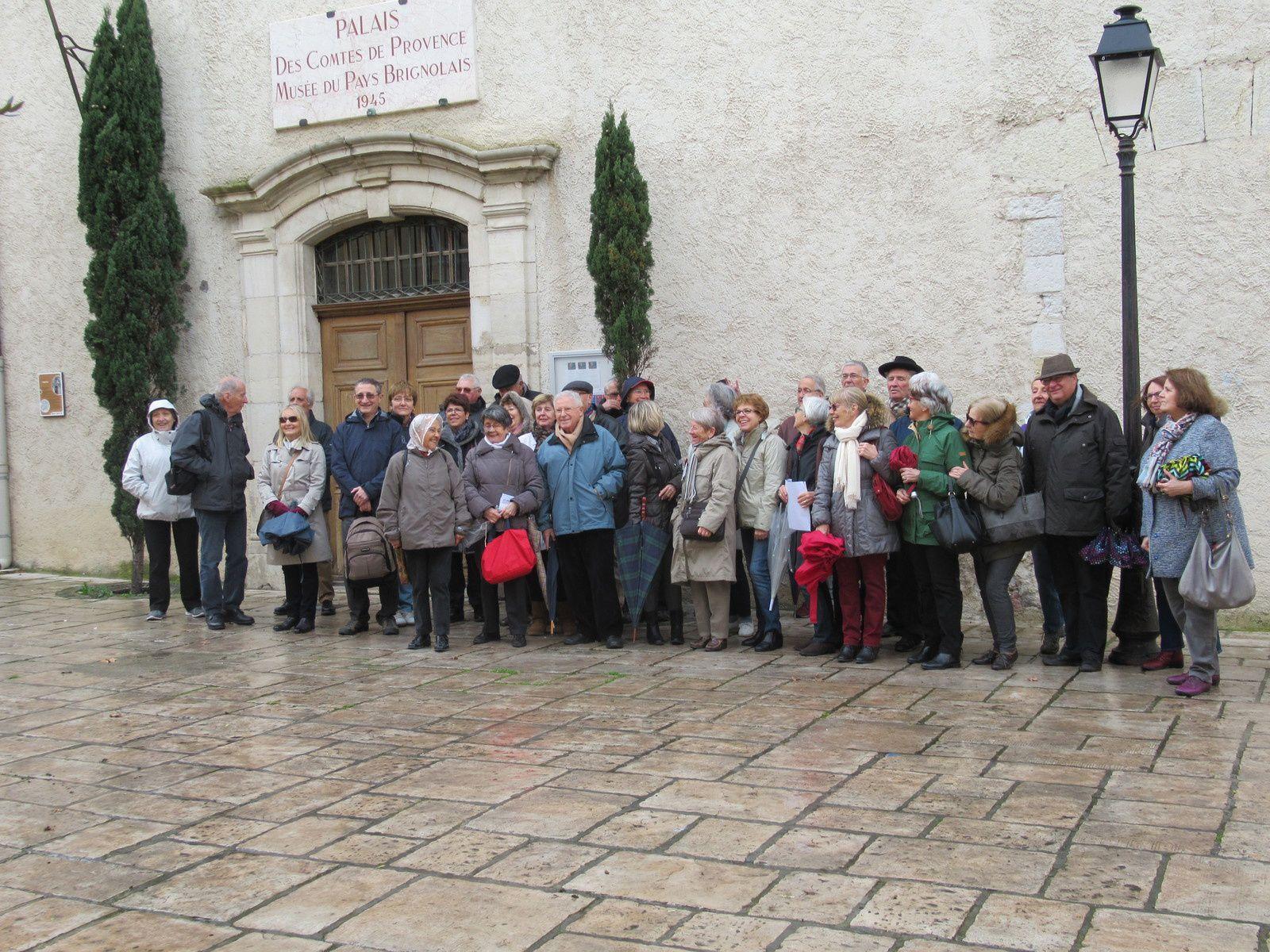 Nous avons visité Brignoles et la cathédrale de Saint Maximin