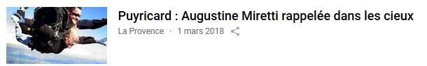 Nous avons accompagné Augustine