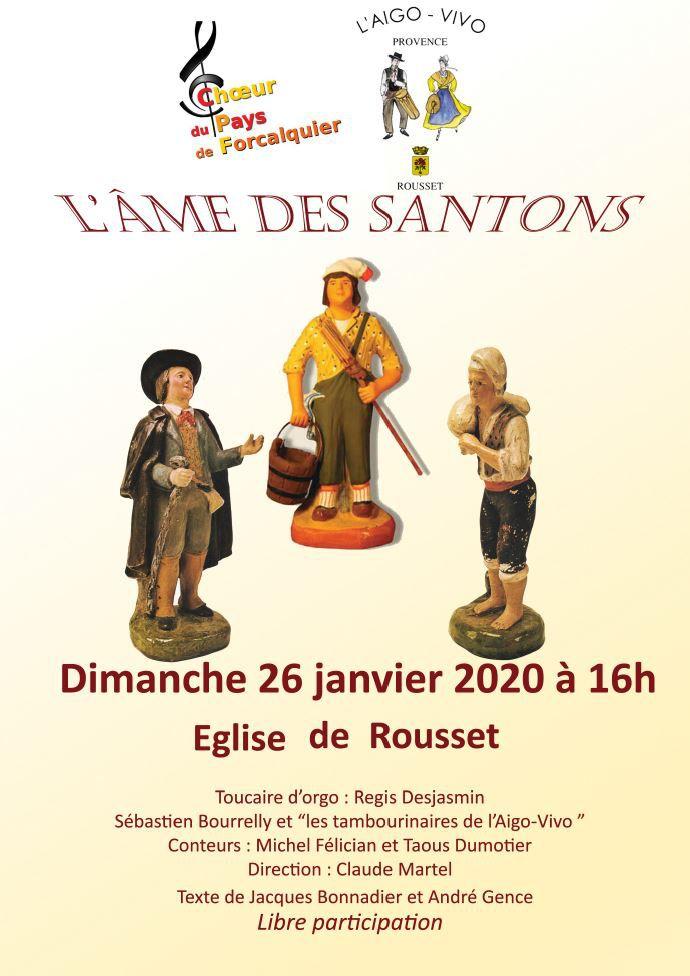 Venez écouter le message des santons de Provence