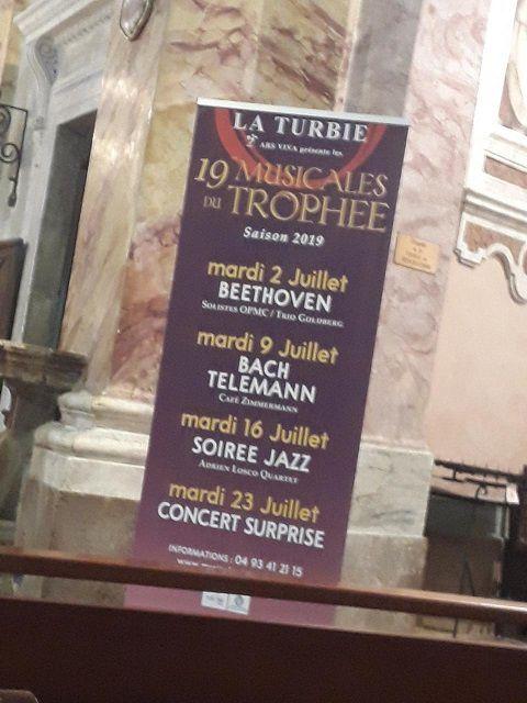 19ème Musicales du Trophée – La Turbie ©Théodore Charles/un-culte-d-art.overblog.com