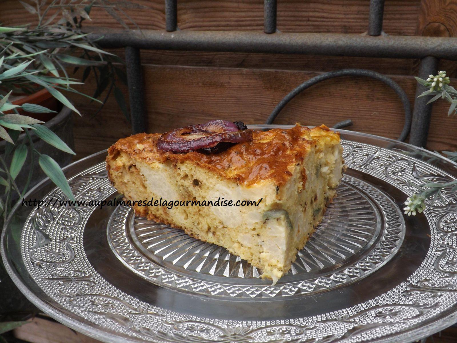 Gâteau de chou-fleur de Yotam Ottolenghi IG bas