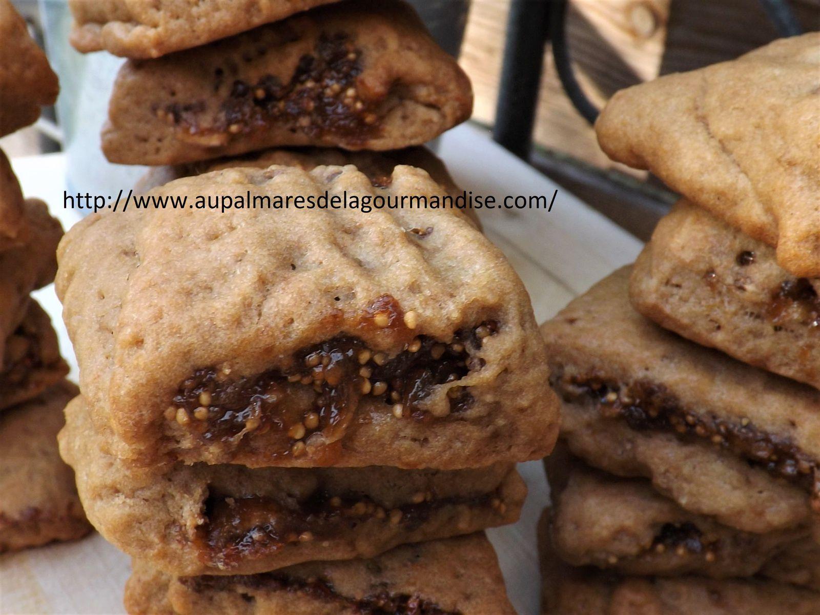 Biscuits aux figues IG Bas  comme des Figolus * Vegan* Healthy* Sans sucre raffiné*Fiberpasta*