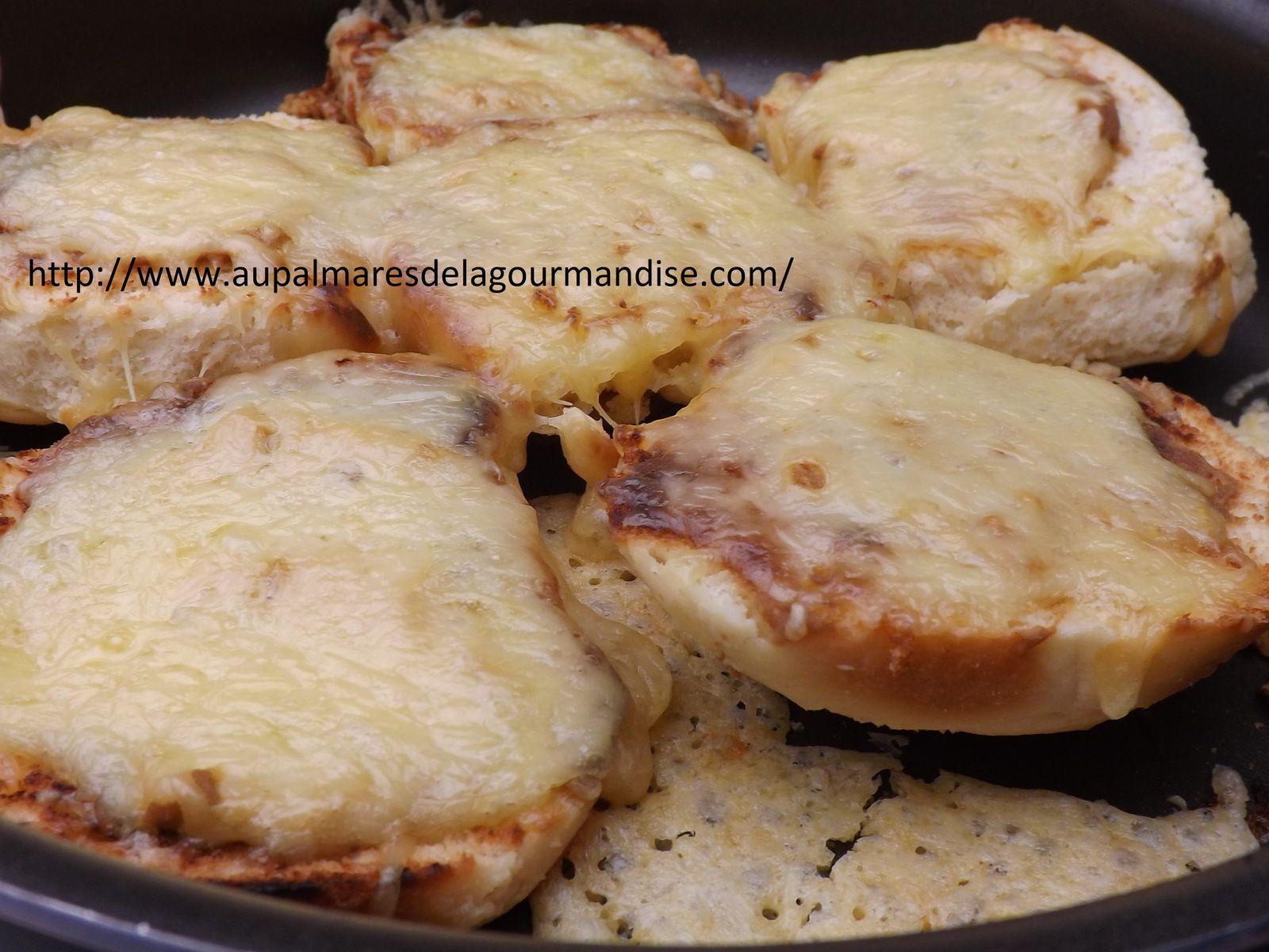 Croûtes au fromage Suisses IG Bas  avec Fiberpasta ou pas