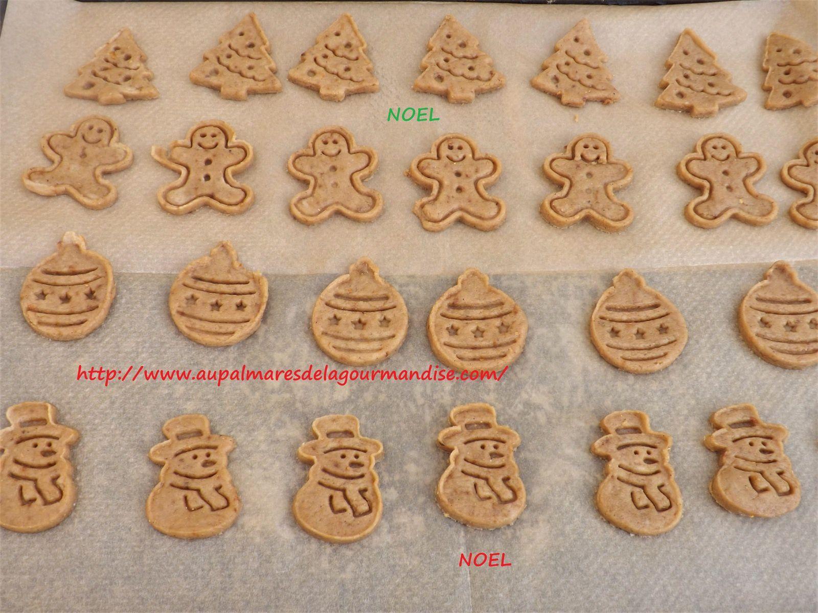 Biscuits de Noel IG Bas, WW sans oeufs,   Fiberpasta