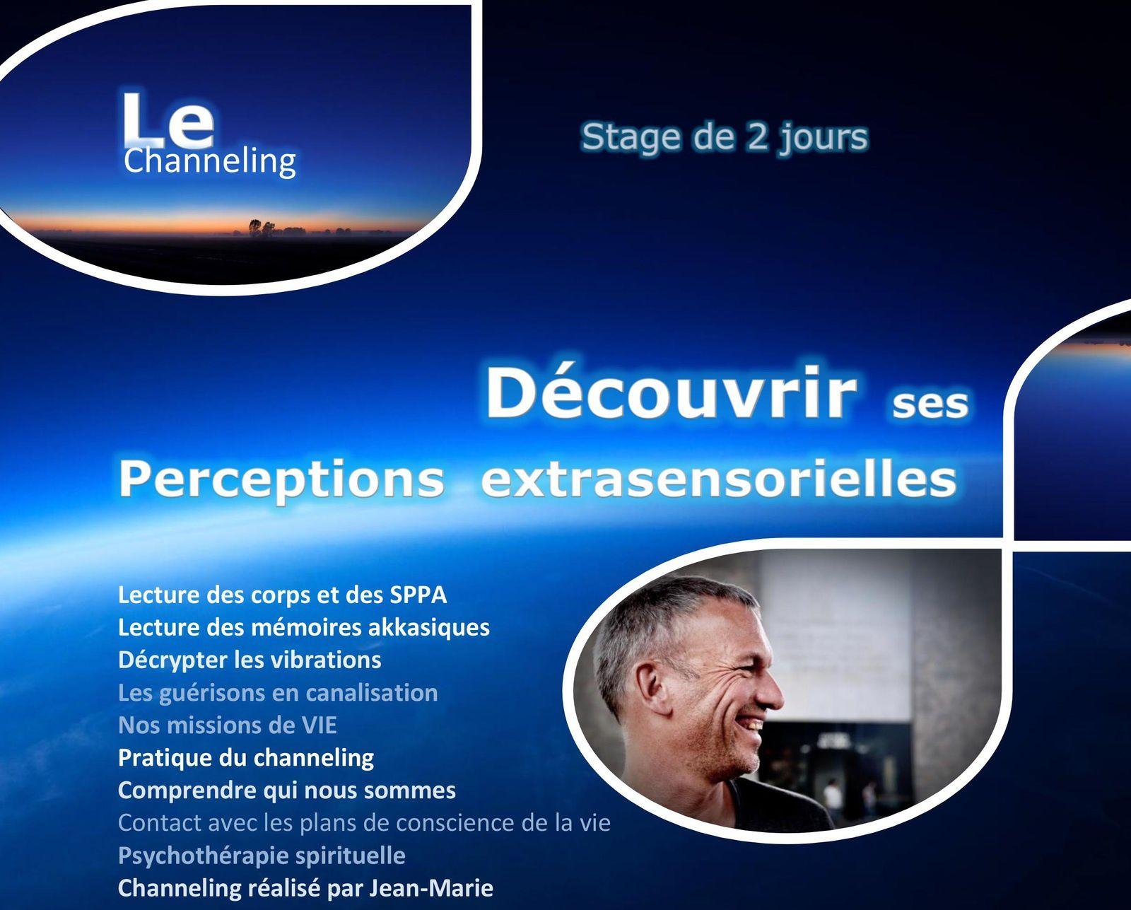 7 décembre : Découvrir ses perceptions extra-sensorielles par Jean-Marie MULLER